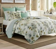 Tommy Bahama Serenity Palms Twin Quilt Comforter Tropical Beach Summer House