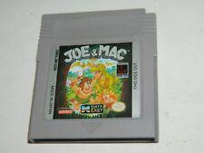 Joe & Mac for Nintendo Game Boy GB (Joe and Mac)