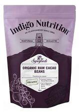 Organic Whole Cacao Beans - 1kg - Indigo Herbs
