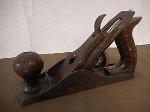 Antique FULTON wood planer Tools Shop Barn Farm Man Cave Collectible Carpenter