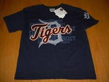 NEW WT MLB DETROIT TIGERS T-SHIRT BOYS L 12 MAJESTIC COTTON
