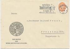 """DT.REICH """"werbet für den Bund Naturschutz in Bayern / MÜNCHEN, RÖMERSTRASSE 4"""""""