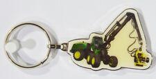 ENGIN CHANTIER BTP Grue matériel levage porte-clé métal 5.5x3.5 cm