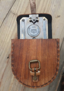 Antique Brunton Compass Solid Brass Geologist 100% Working Compass,With All Par