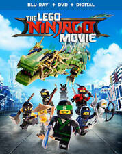 The LEGO NINJAGO Movie (Blu-ray Disc, 2017, 2-Disc Set)