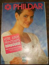 Phildar Mailles N°213 Printemps Eté 1992 Tricot Modèles Laine