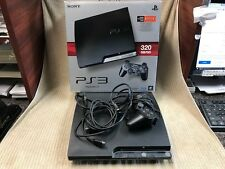 PLAYSTATION 3 PS3 320GB CONSOLE BLACK    Free Shipping!!