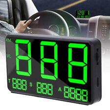 Car Digital GPS Speedometer HUD Head Up Display Universal Overspeed UK
