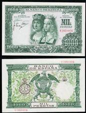 1000 Pesetas 1957 Reyes Católicos. Serie V 7058026. NO CIRCULADO SUAVE DOBLEZ.