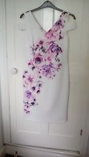 lilac multi print cold shoulder dress, size 14, from Together, worn once - £79