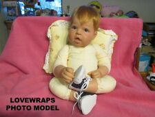 """3-1/2"""" NAVY WHITE OXFORD SHOES FOR REBORN BABY DOLLS LARGE NEWBORNS SIZE 20"""" 22"""""""