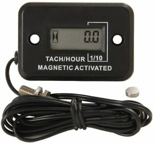 HM-C012 Magnetic Activated LCD Digital Rotating Shaft Tachometer for Gas Engines