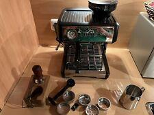 GRAEF Milegra ESM 802 Siebträger Espressomaschine mit integrierter Kaffeemühle