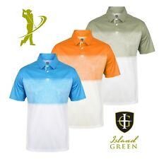 Island Green Men's Igts1650 Polo Shirt Orange X-large