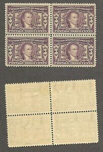 1904 U.S. Louisiana Purchase 3 cent Scott# 325 Block of 4 - Mint, hinged  stk#FL