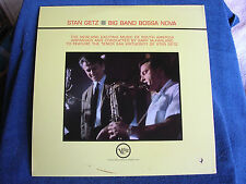 Stan Getz-Gary McFarland/Big Band Bossa Nova/Mono/Verve-MGM Label V-8494/MINT-