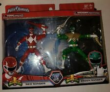 Power rangers good vs evil 2 pack green ranger red ranger.