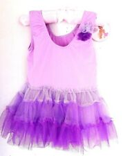Princess Expressions Tulle Tutu Party Dress Purple Size 12-18 Months NWT