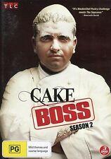 Cake Boss - Season 2 - Region 4 - Like New - Australian Seller