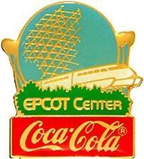 EPCOT CENTER 15TH Anniv COCA-COLA CAST LE Disney PIN