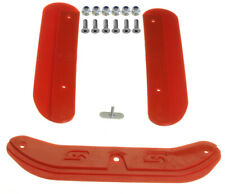 Senzo Otk (TonyKart) Chassis Protectors Red w/ Fixing Bolts Go Kart
