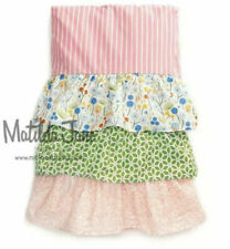 NWT Matilda Jane TWIN Adventure Begins Rows Of Ruffles Bedskirt bed skirt NEW