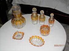 Ensemble cristal Val Saint Lambert cristallerie