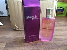 Woman RARE MIRACLE FOREVER Perfume 50ml 1.6fl.oz Lancome Women EDP 1.7oz Vintage