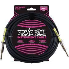 Ernie Ball 6046 Cavo Strumento PVC Black - 6 metri