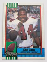 American Football Card💎1990💎Topps - Atlanta Falcons - John Settle🌟473🌟