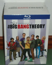 THE BIG BANG THEORY 1-9 TEMPORADAS COMPLETAS 18 BLU-RAY PRECINTADO (SIN ABRIR)