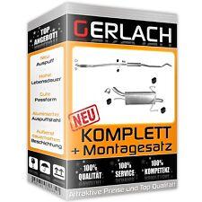 OPEL CORSA C 1.2 1.4 55//59//66 KW 2000-2006 Auspuff Auspuffanlage 0266