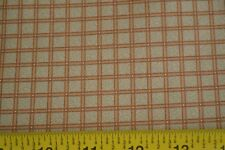 Moda//Civil War Homefront//8157 16 By 1//2 Yd M8452 Rust /& Gold Checked Quilting