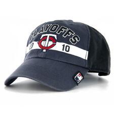 1be68440e2f66 Minnesota Twins 47 Brand 2010 MLB Baseball Playoffs Cap Hat - MSRP  27.99
