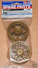 Tamiya 50741 Mesh Wheels 2 Pcs. (Gold, 26mm/+2), 58193 Porsche 911 GT1/TA03R-S