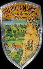 Veilbronn Walking hiking medallion stocknagel shield mount G1518