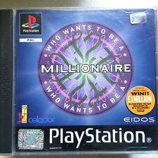Sony PlayStation PS1 ~ Juego Retro ~ WHO QUIERE PARA BE A MILLONARIO Gameshow