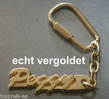 Edler SchlÜsselanhÄnger Celine Vergoldet Gold Name Keychain Keychain Sonstige