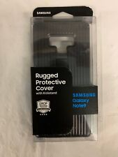 Samsung Rugged Protective Kickstand Cover for Galaxy Note9 - Black