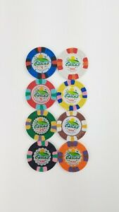 Joker Casino sample set Las Vegas (Kopie Dunes) 8 Stck. Poker Casino Chips NEU