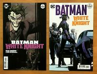 Batman White Knight 7 2018 Sean Murphy Main &  Variant Covers  1st Prints DC  NM
