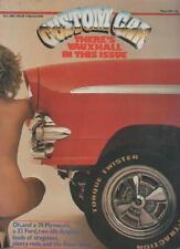 CUSTOM CAR MAGAZINE  MARCH 1983  CORVETTE STINGRAY   LS