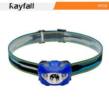 rayfall hp3a Linterna, impermeable, azul, 5 niveles, Lámpara Cabeza 168 Lumen