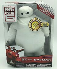 "Big Hero 6 10"" Baymax Plush Figure with Sound Effects -BRAND NEW-Sealed"
