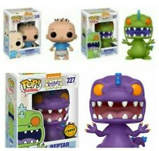 Funko Pop! Vinyl Nickelodeon Rugrats CHASE Reptar #227 + Tommy & Reptar. NEW 3x