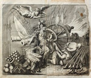 Mars Kriegsgott Türken-Krieg Barock Muskete Balkan Osmanen Artillerie Rüstung