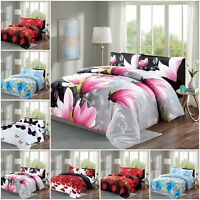 Duvet Cover Set with Pillow Case 100% Brushed Fabric Quilt Cover Bedding Set