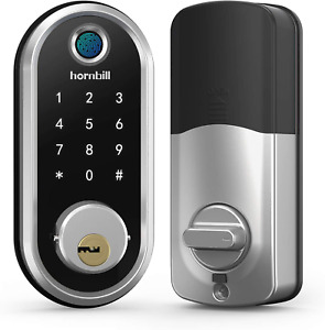Keyless Entry Door Lock Bluetooth Deadbolt Digital Electronic Keypad Fingerprint