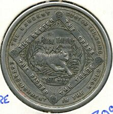 The Royal Tailors Chicago Illinois one dollar scrip token