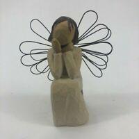 "Willow Tree Demdaco 2001 ""Angel of Caring"" Figurine by Susan Lordi"